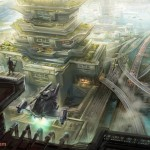 Concept-Art de Science-Fiction