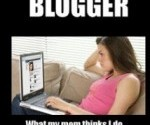 Les blogueurs – What I Actually Do