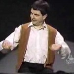 Rowan Atkinson – Invisible Drum Kit