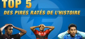 Top 5 des pires fails du foot