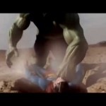 Hulk vs Superman, le combat