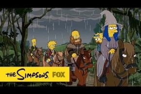 Le générique des Simpsons, version The Hobbit