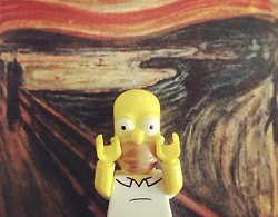Tumblr : Lego et Simpsons